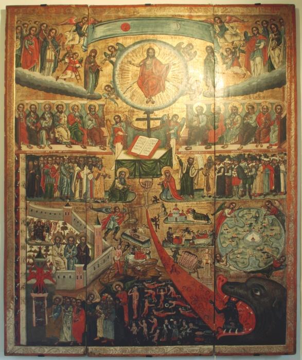 Икона «Страшный Суд», Польша, XVII в