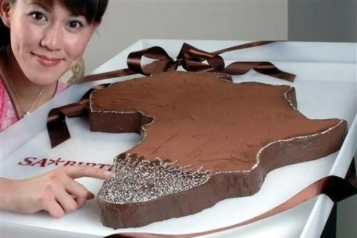 «Африканский» алмазный торт