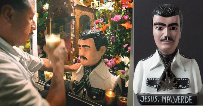 Культ Хесуса Мальверде распространен в Мексике и США. Особенно почитается этот непризнанный святой в мексиканском штате Синалоа.