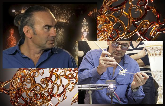 Лючио Бубакко (Lucio Bubacco) – мастер муранского стекла, разработавший собственный стиль работы с этим материалом