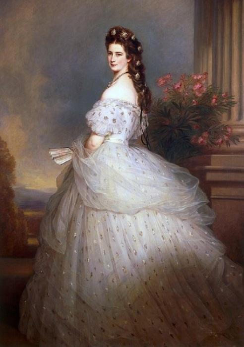 Франц Ксавьер Винтерхальтер, Елизавета, императрица Австрии и королева Венгрии