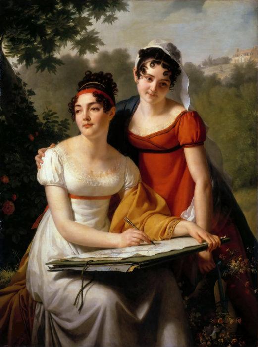 Стиль ампир в начале XIX века принес дамам огромную свободу по сравнению с модой предыдущего века