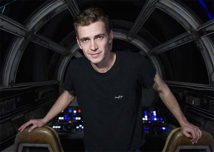 Хейден Кристенсен на съёмках фильма «Звёздные войны: Скайуокер. Восход»