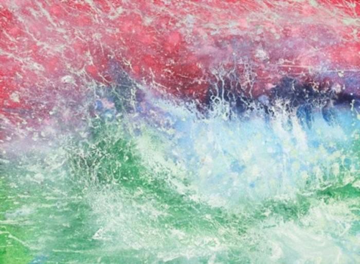 Картины Айрис Грейс - десятилетней художницы, больной аутизмом, полны радости и светлых красок