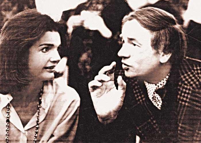 Жаклин Кеннеди и Андрей Вознесенский
