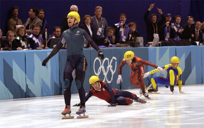 Победа австралийского спортсмена в 2002 году