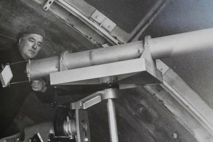 Основным инструментом прогнозов погоды для  Дьякова стал телескоп