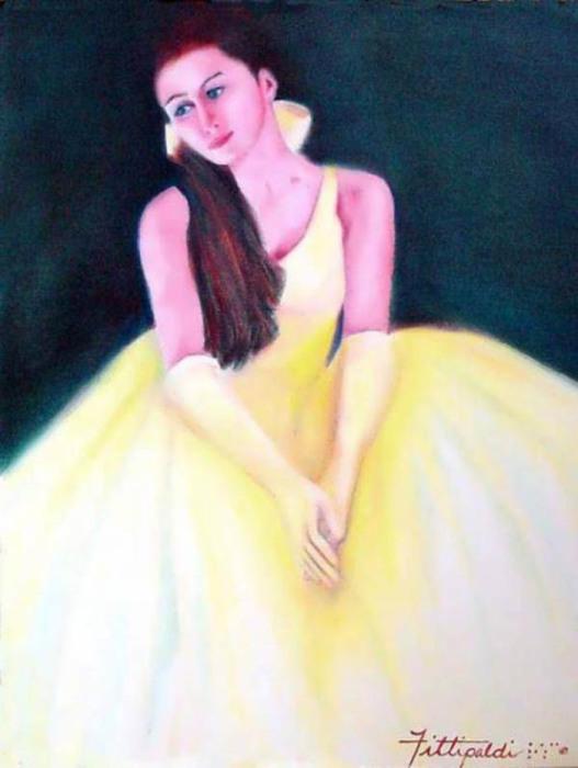 Картины слепой художницы Лизы Фиттипальди наполнены светом
