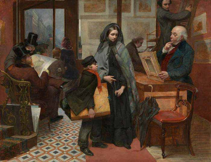 Эмили Мэри Осборн «Без имени и друзей», 1857 год