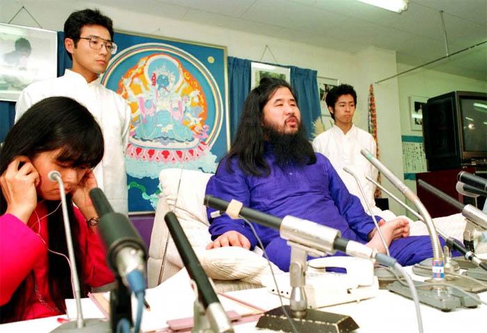 Основатель секты Сёко Асахара (настоящее имя Тидзуо Мацумото)