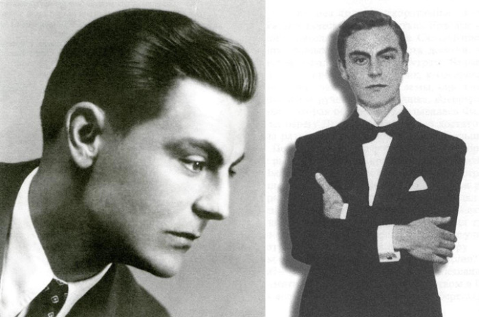 Эдуард Фальц-Фейн в молодости