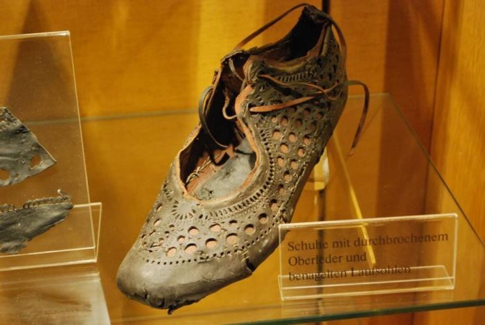 Древнеримская обувь прекрасно сохранилась за 2 тысячи лет