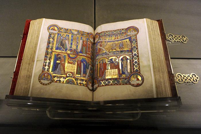 Рукописное Евангелие Генриха Льва, ок. 1188 г.
