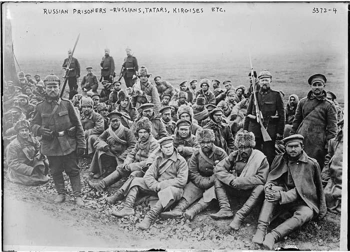 Русские солдаты в немецком тылу