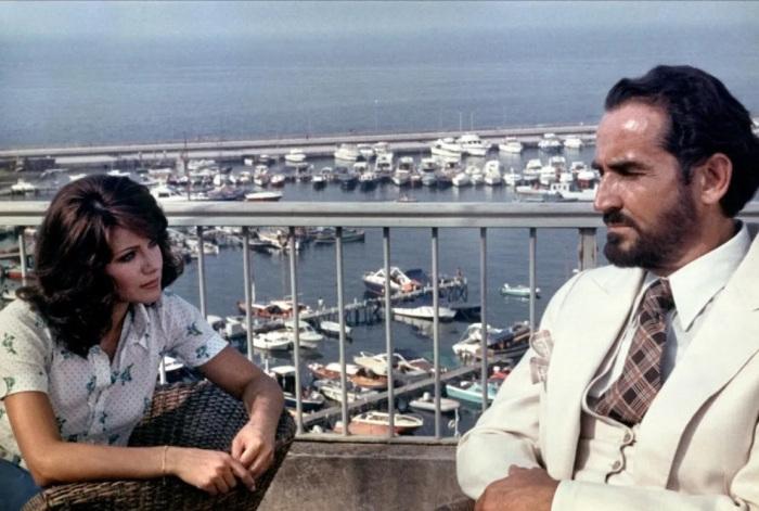 «Запах женщины» 1974 года, в главных ролях Витторио Гассман и Агостина Белли