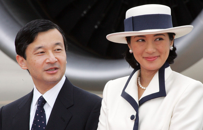 Кронпринц Японии Нарухито с супругой Масако, 2006 год