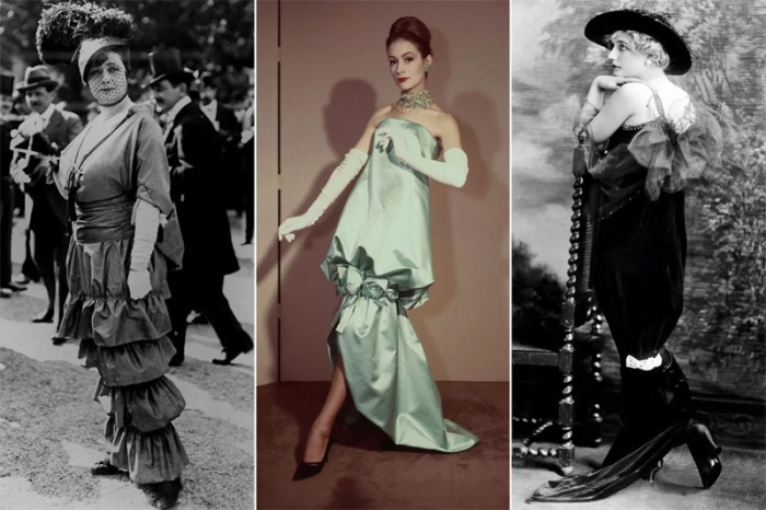 «Хромая юбка» позволяла делать только небольшие шаги, но выглядела очень изящно