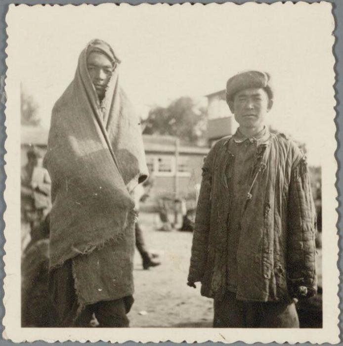 Советские военнопленные-узбеки в лагере Амерсфорт