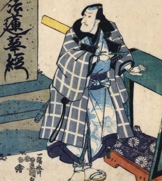 Портрет актёра Матсумото Косиро V в роли Бандзуйина Тёбэя