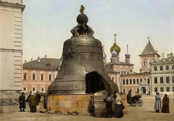 Царь-колокол в начале XX века