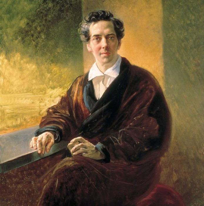 Карл Брюллов, портрет Алексея Перовского