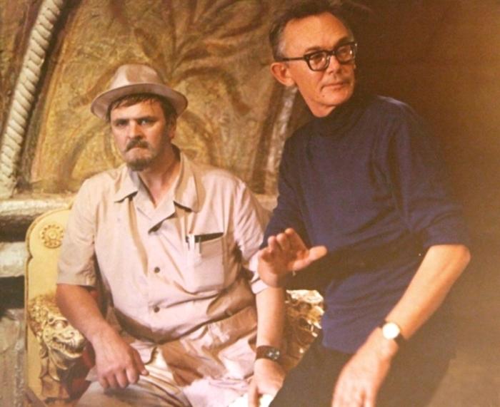 Леонид Гайдай и Юрий Яковлев (Иван Васильевич меняет профессию)