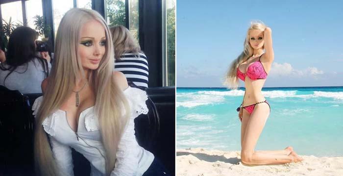 Валерия Лукьяненко – «живая кукла» из Одессы