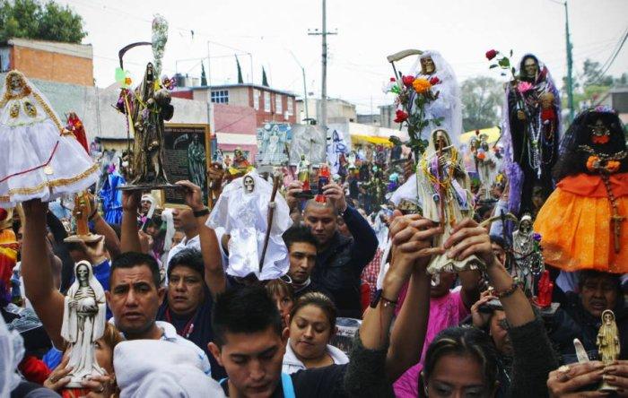 Новое религиозное течение Санта Муэрте – самый быстро распространяющийся культ сегодня