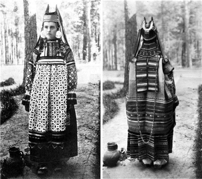 Кика рогатая – традиционный наряд женщин русского юга