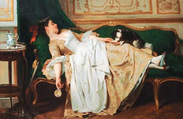 Joseph Caraud, «Отдых»