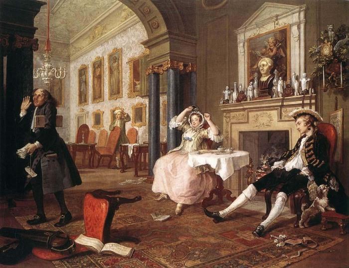 Уильям Хогарт «Вскоре после свадьбы» («Shortly After the Marriage»)