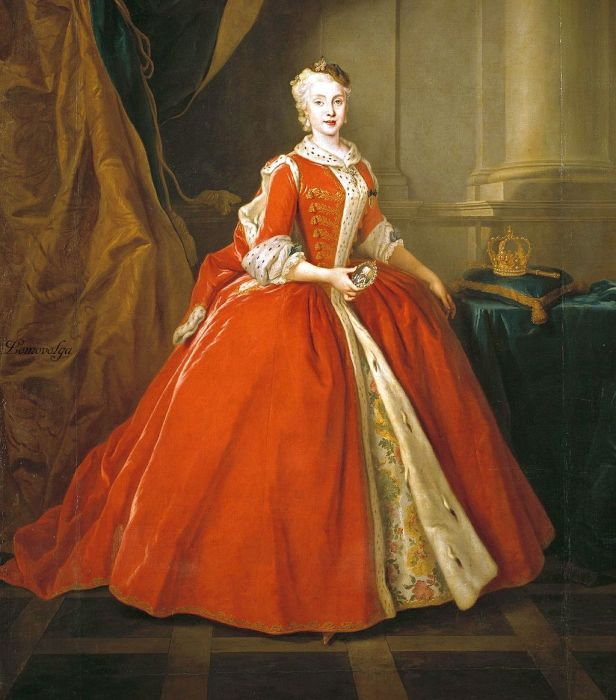 В XVIII веке корсет носили в основном для формирования осанки