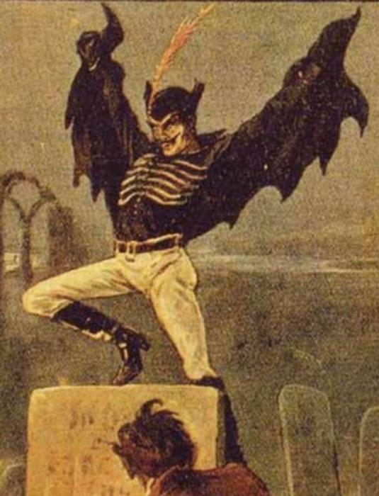 Джек на обложке журнала «Ужас за один пенни», 1890 год