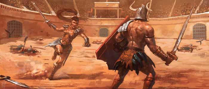 Существует много свидетельств о женских гладиаторских боях в Древнем Риме