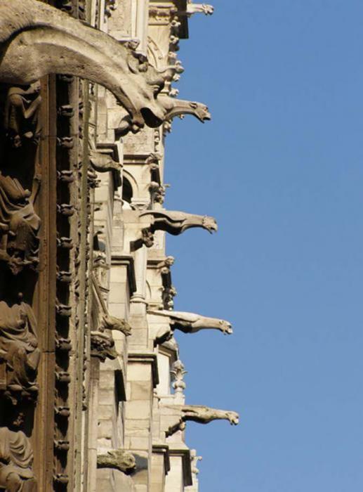 Горгульи Собора Парижской Богоматери, Франция