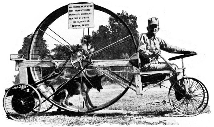 «Собакомобиль» - оригинальный и экологичный вид транспорта