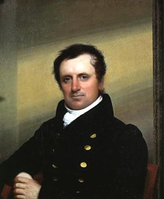 Портрет Джеймса Фенимора Купера (художник — Джон Уэсли Джарвис, 1822 год)