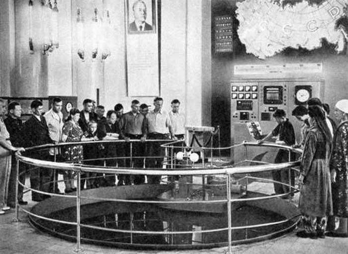Ядерный реактор, выставленный на ВДНХ