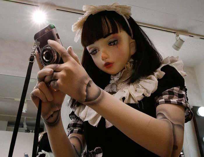 Лулу Хасимото – кукольный образ, который стал «вторым лицом» девушки из Японии