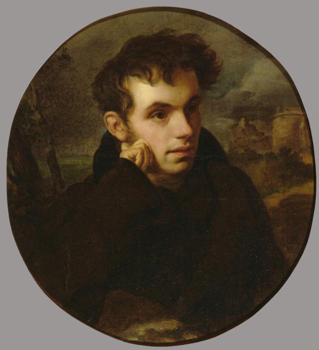 О.Кипренский, портрет Василия Жуковского, 1815 год