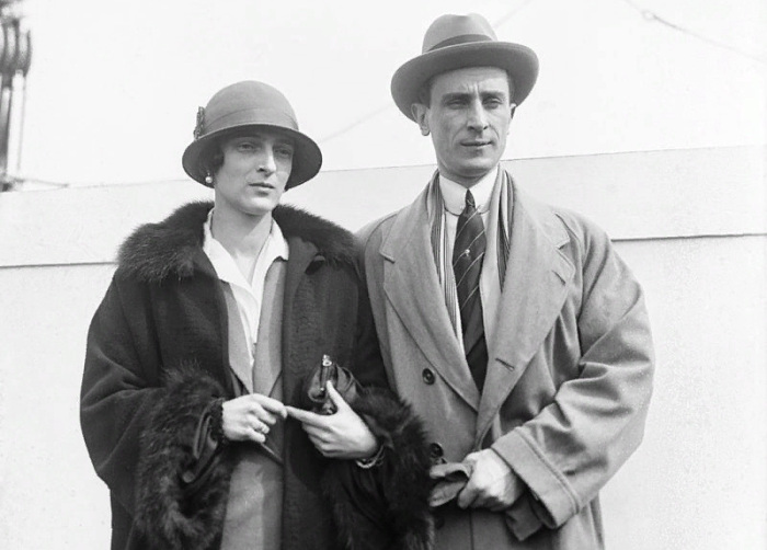 Феликс Юсупов и его жена Ирина, 1930 год
