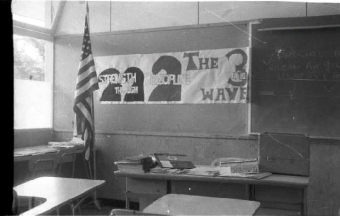 «Сила в дисциплине» - немудрящая символика и идеология «Третьей волны» оказала на детей гипнотическое действие