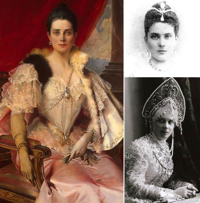 Княгиня Зинаида Юсупова и фамильная жемчужина Пеллегрина на портрете Франсуа Фламенга и на фотографиях