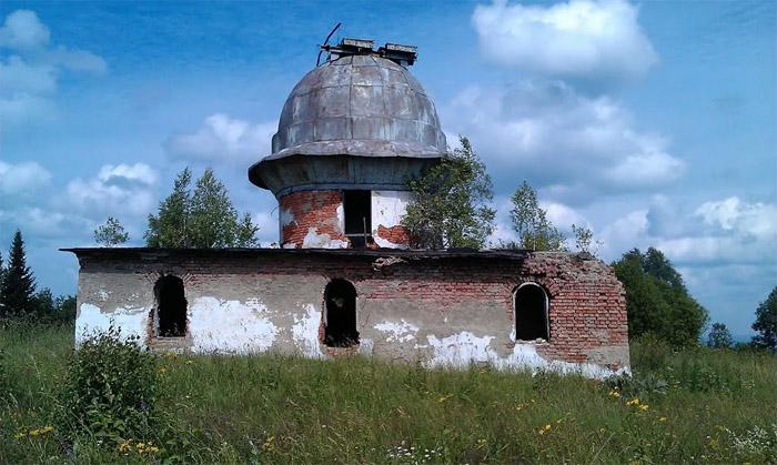 Обсерватория А. Дьякова в наши дни почти разрушена