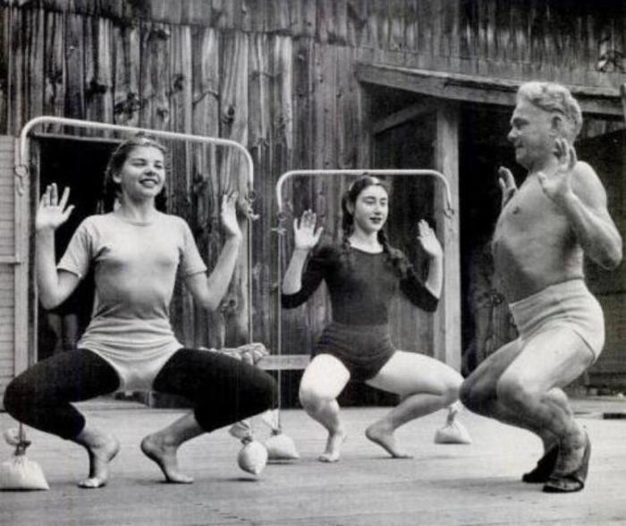 Йозеф Пилатес до старости проводил активные тренировки