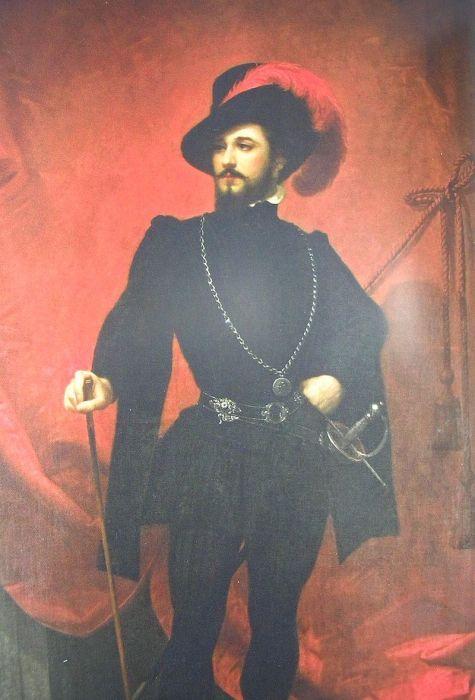 Певец Джованни Марио в образе дон Жуана в одноимённой опере Моцарта