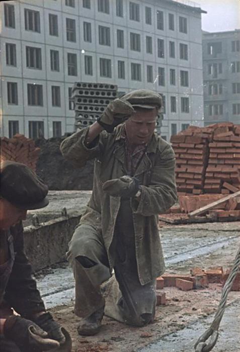 Строители за работой, 1960-е, Всеволод Тарасевич