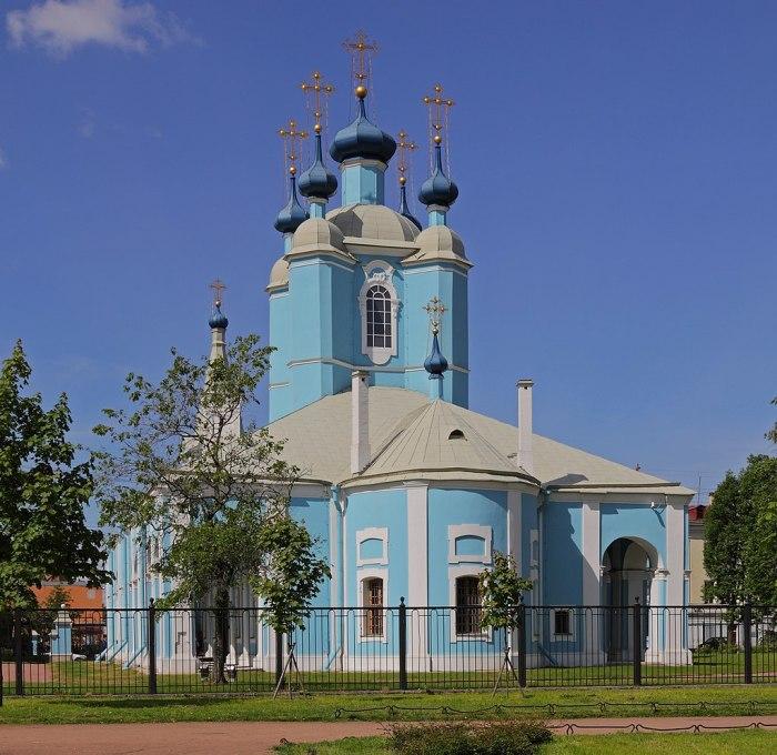 Собор Преподобного Сампсония Странноприимца в Санкт-Петербурге в котором, возможно, состоялось тайное венчание Екатерины II и Григория Потемкина.