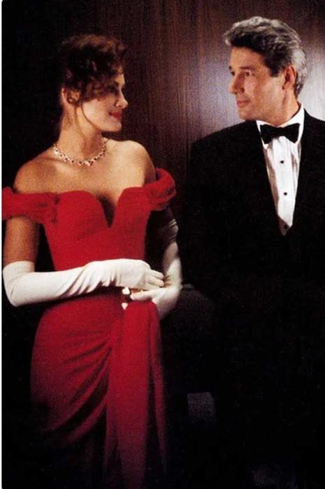 Красное вечернее платье из к/ф «Красотка»