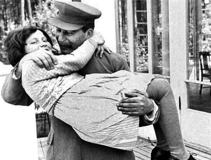 Дочь была любимицей Сталина